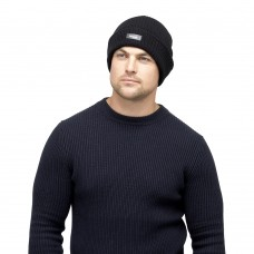 MENS THINSULATE RIBBED KNITTED HAT
